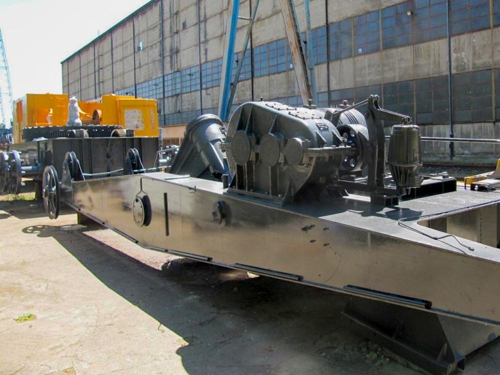 Generální oprava rypadla UNEX E 303 - příprava na transport kzákazníkovi